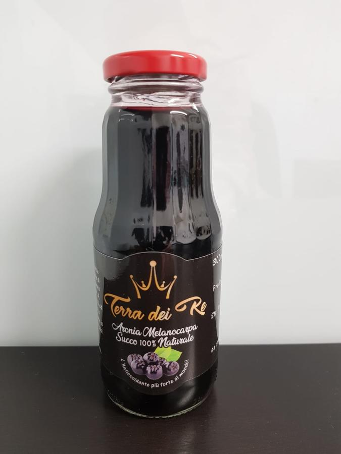 Succo naturale di Aronia Melanocarpa 900 ml