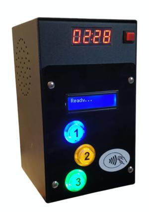 Lettore di CARTE/Braccialetti RFID per 3 Uscite a 12Vcc