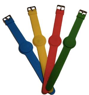 Braccialetti RFID 13,56 MHz, M1, con Cinturino Regolabile (50 pz)