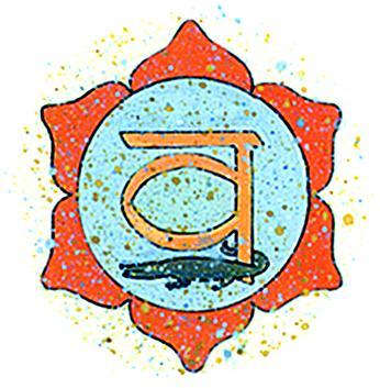 Incenso Chakra 2 Swadhistana (arancione)
