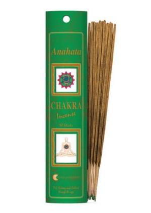 Incenso Chakra 4 Anahata (verde)