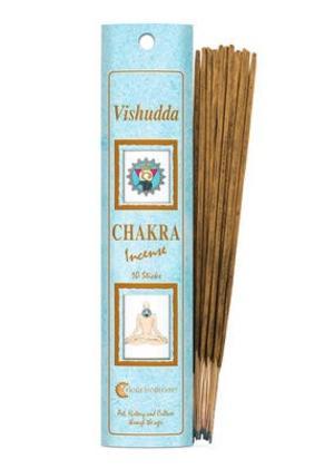 Incenso Chakra 5 Vishuddi (azzurro)