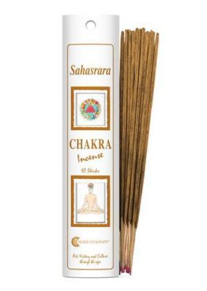 Incenso Chakra 7 Sahasrara (bianco)