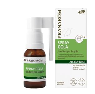 Pranarom - Aromaforce Spray gola bio