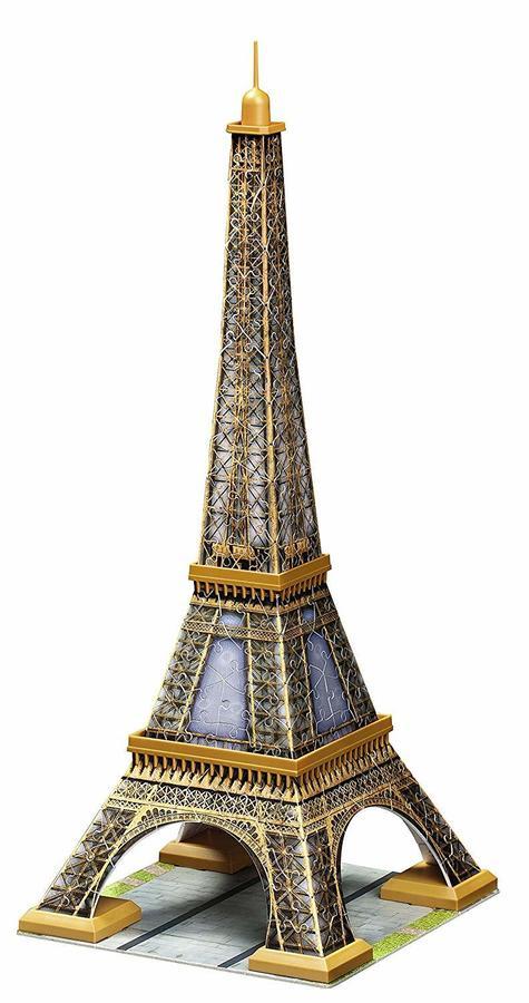 Eiffel Tower Paris - Puzzle 3D Ravensburgher 12 556 2 216 pcs 12+ anni