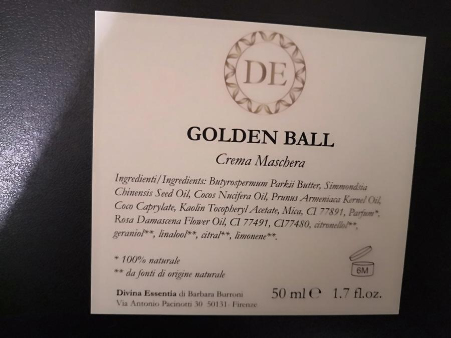 Golden ball by Divina Essentia media