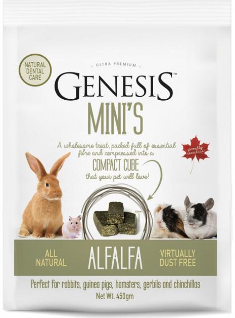 Genesis Mini's AlfAlfa - gr. 450 - cubetti di fieno pressato