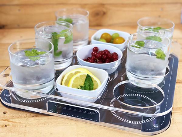 Set Vassoio Porta Bicchieri e Snacks - Serie Party di Marine Business - Offerta di Mondo Nautica 24
