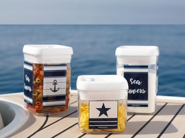 Set Barattoli da Cucina Sea Lovers di Marine Business - Offerta di Mondo Nautica 24