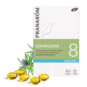 Pranarom - Oleocaps 8 Depurazione