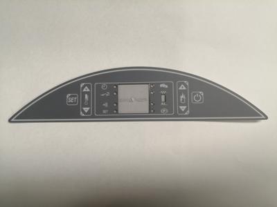 DISPLAY LCD 6 TASTI MICRONOVA ORIZZONTALE GRUPPO PIAZZETTA