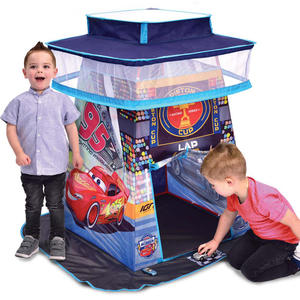 Pista Tenda Gioco Cars Speedway Tower 3+ anni