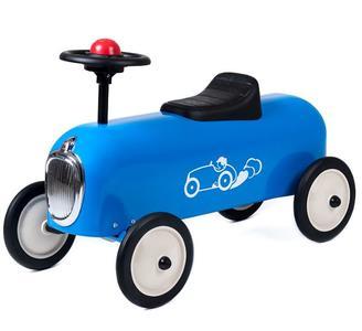"""Cavalcabile in Metallo """"Blu"""" per Bambini della Linea I Racers di Baghera  Offerta"""