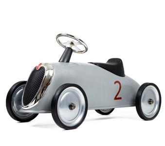 """Cavalcabile in Metallo """"Silver"""" per Bambini della Linea I Riders di Baghera 831"""