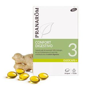 Pranarom - Oleocaps 3 Confort digestivo