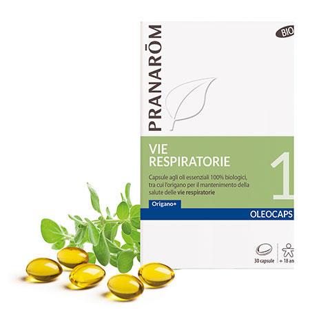 Pranarom - Oleocaps 1 Vie respiratorie