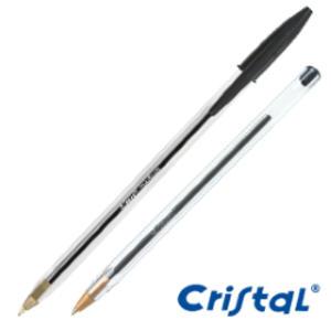 Penna sfera CRISTAL® medio 1,0mm nero BIC®