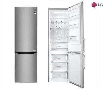 LG frigorifero combinato 343lt A+++ INOX-SAFFIANO inverter no-frost GBB60SAPXS ( 1 PEZZO DISPONIBILE )