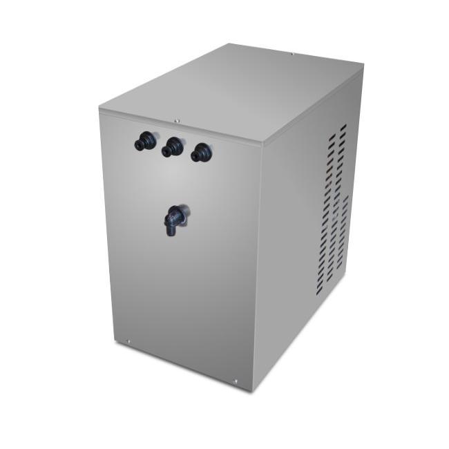 Erogatore professionale acqua fredda,frizzante e ambiente Mf 60 Sottobanco solo gruppo macchina.