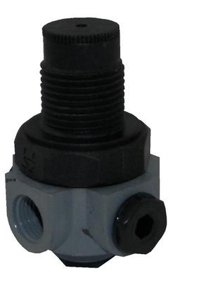 Riduttore di pressione acqua in plastica abs.