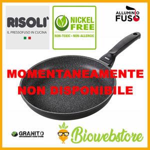 Risoli' Padella GRANITO Nichel Free GRAN GOURMET 20 - 24 - 28 - 32