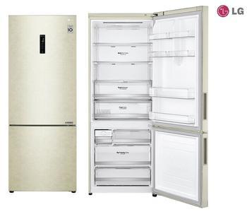 LG GBB567SECZN frigorifero con congelatore Beige 451 L A++