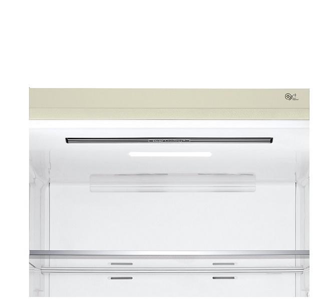 LG frigorifero combinato 450lt A++ SABBIA GBB567SECZN