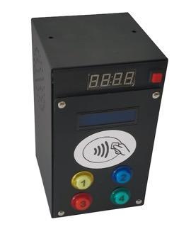 Lettore di CARTE/Braccialetti RFID per 4 Uscite a 12Vcc