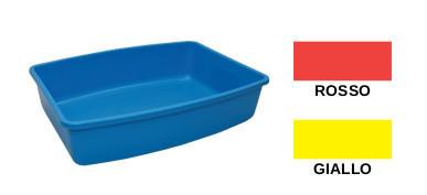 Cassetta Igienica Ovale con bordo - Blu