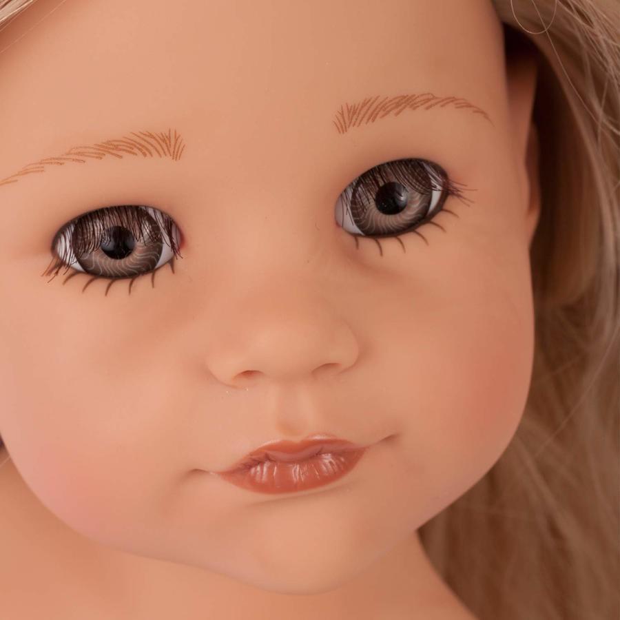Bambola in Vinile Hannah All Year Round Edizione Numerata Originale di Gotz qualità Made in Germany