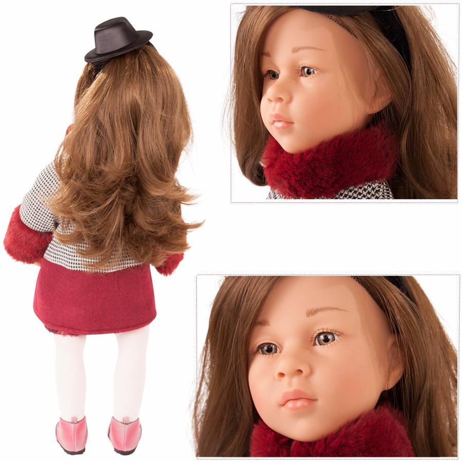 Bambola in Vinile  snodabile Happy Kidz Emilia in Edizione Numerata Originale di Gotz qualità Made in Germany