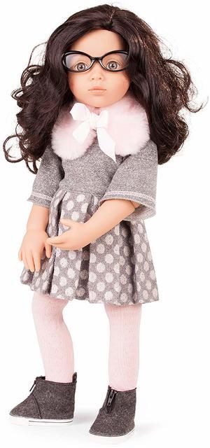 Bambola in Vinile snodabile Happy Kidz Luisa  in Edizione Numerata Originale di Gotz qualità Made in Germany
