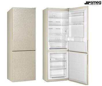 SMEG frigorifero combinato 330LT A++ MARMORIZZATO-SABBIA No Frost FC182PMN