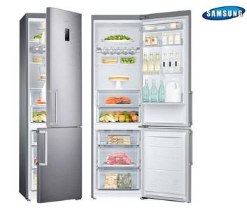 SAMSUNG frigorifero combinato 367lt A++ SILVER RB37J5315SS