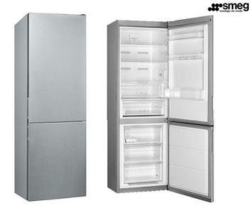 SMEG frigorifero combinato 324lt A++ ACCIAIO INOX anti-impronta FC182PXN