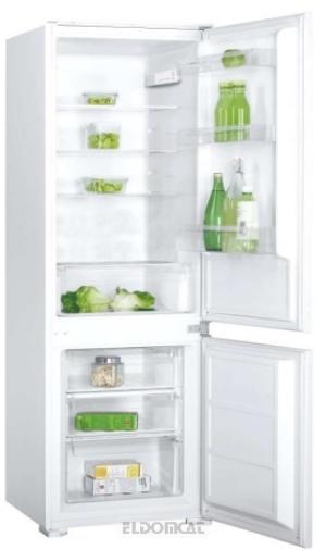 SEKOM frigorifero combinato ad incasso 250lt A+ BIANCO SHCB275BI