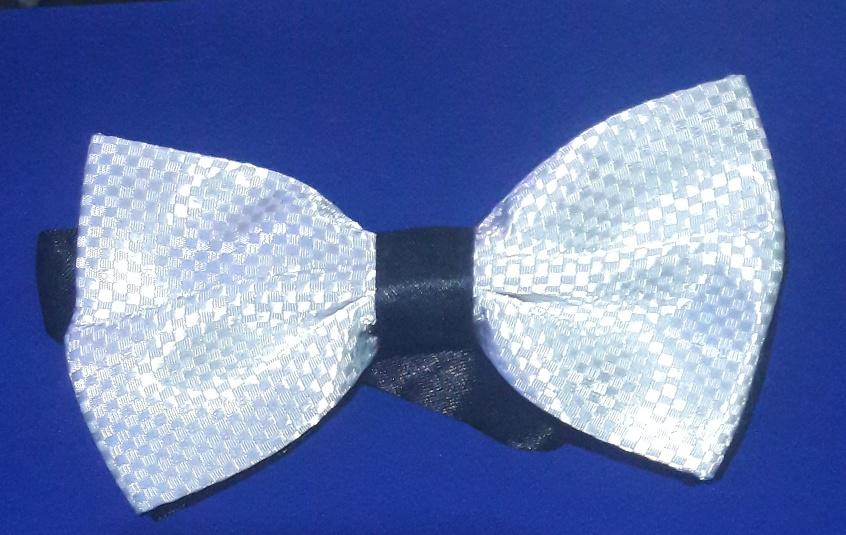 PAPILLON MAN SILK WHIT OR WITHOUT CRYSTAL STRASS