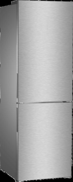 DAYA frigorifero combinato 318lt A+ INOX No Frost DHCB-47DX