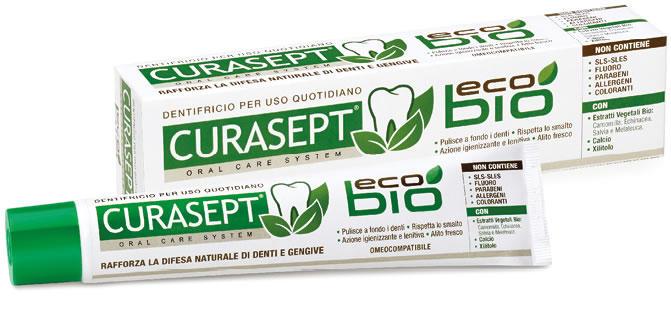 CURASEPT ECOBIO Dentifricio Naturale Omeocompatibile