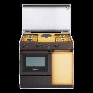 DE LONGHI cucina forno a gas 85X86X50 COPPERTONE 4F 1PE SEK 8541