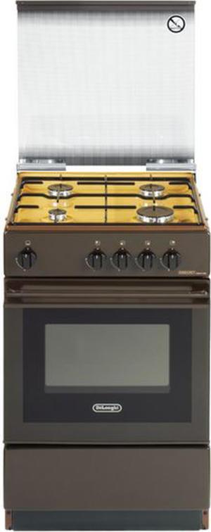 DE LONGHI cucina a gas 4f forno a gas 50X50 MARRONE– SGK554GB