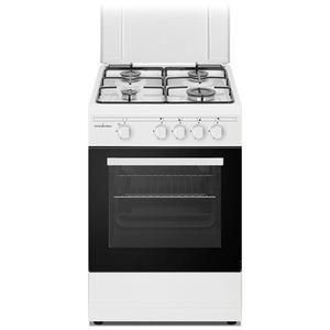 SCHAUB LORENZ cucina elettrica 4 fuochi a gas forno a gas classe A 50 x 50 cm BIANCO SS450GW