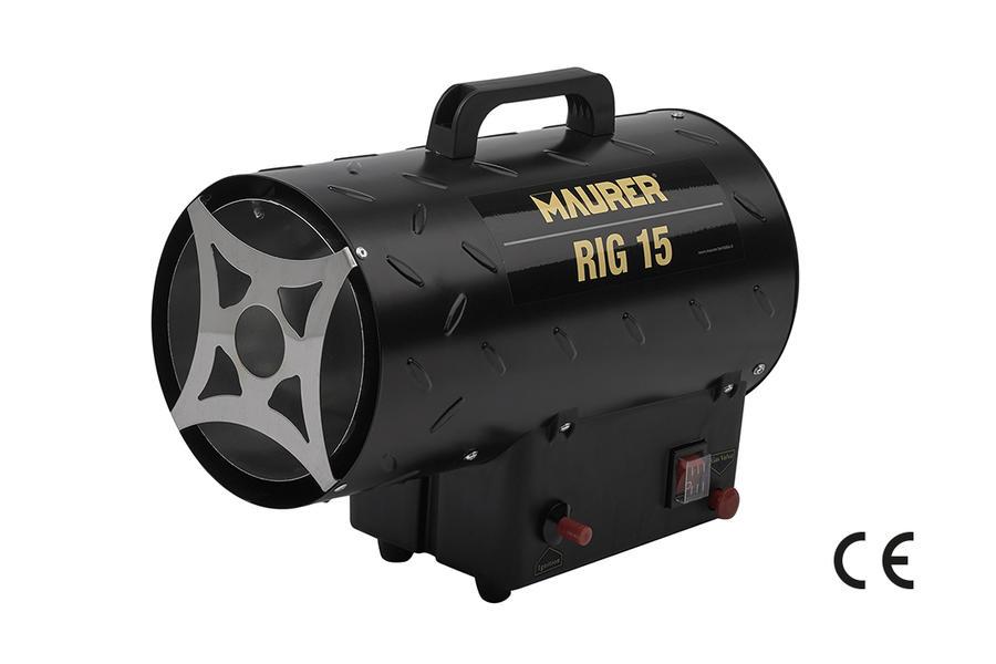 "Riscaldatore a GAS ""RIG 15V"" MAURER 15KW INDUSTRIALE cod  53582"