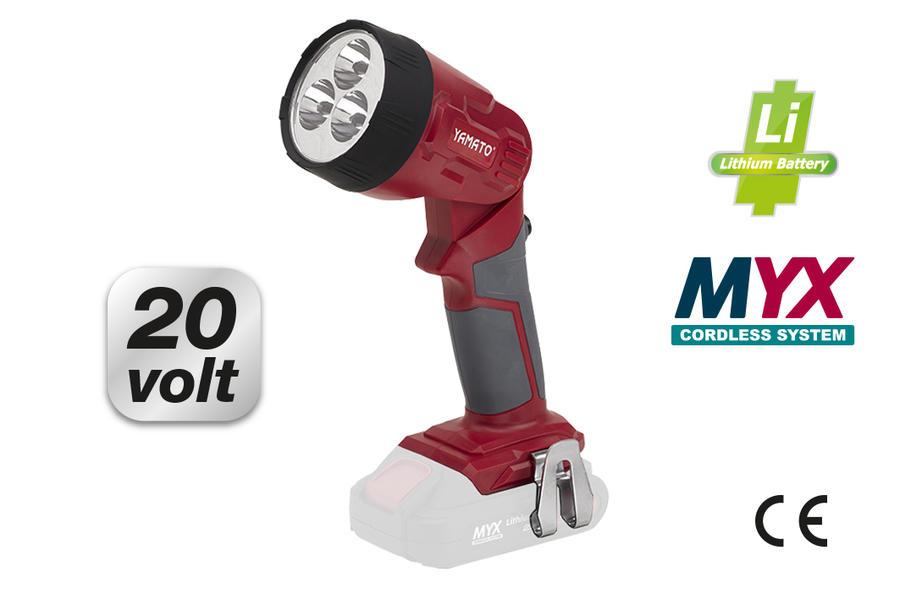 Lampada a LED a batteria LITIO CLL 20 L cod 53179