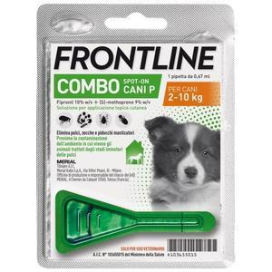 Frontline Combo Per Cani Antiparassitario 1 Pipetta Zecche Pulci Pidocchi Repellente