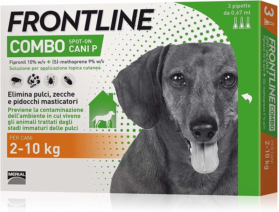 Frontline Combo  Per Cani 10 Kg Antiparassitario Repellente Zecche Pulci Pidocchi