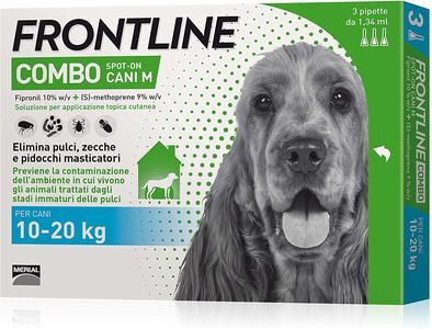 Frontline Combo Antiparassitario Pipetta Cane 20 KG Repellente Zecche Pulci Pidocchi