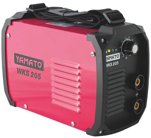 SALDATRICE INVERTER Portatile Monofase YAMATO mod. WKS 205 180A con accessori cod 51712