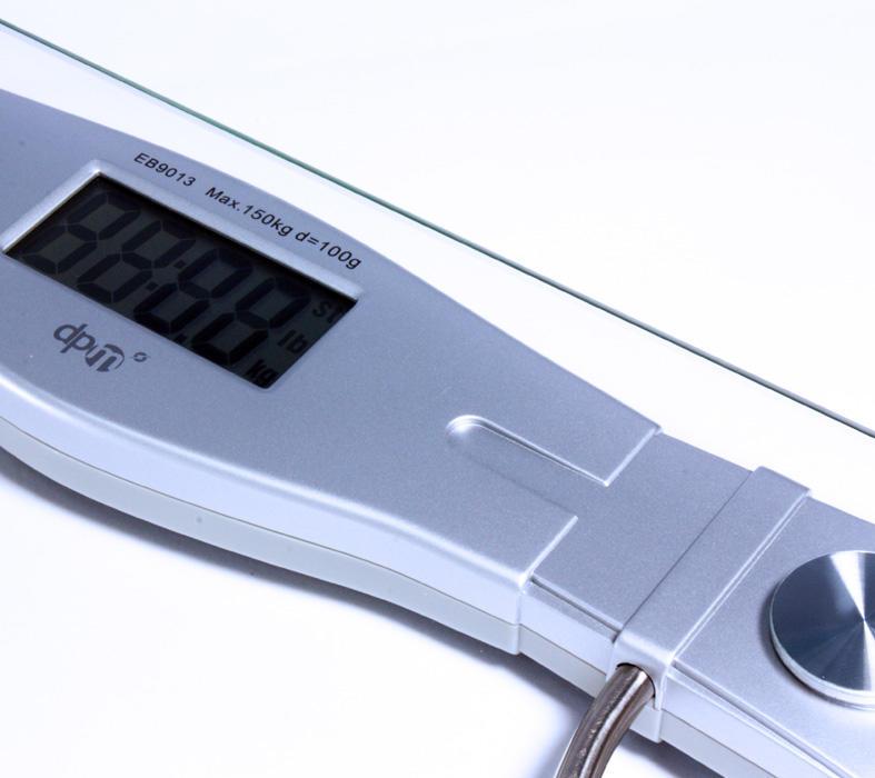 DPM Bilancia Pesa Persone in Vetro EB9013
