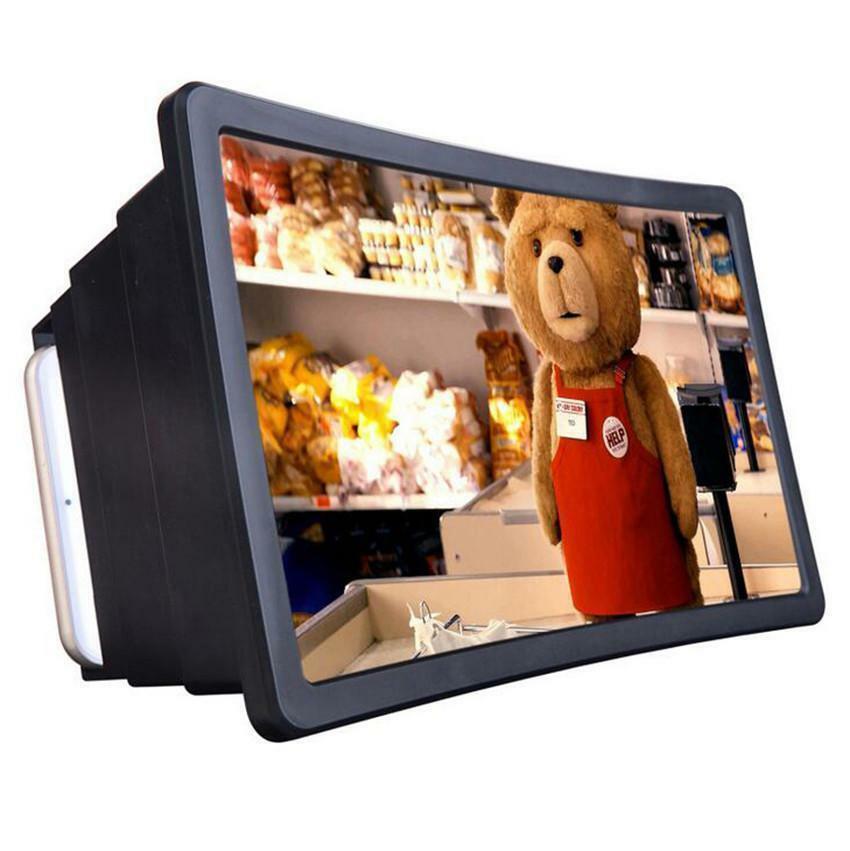 Schermo Lente d'ingrandimento 3D Movie Video Cellulare Amplificatore HD